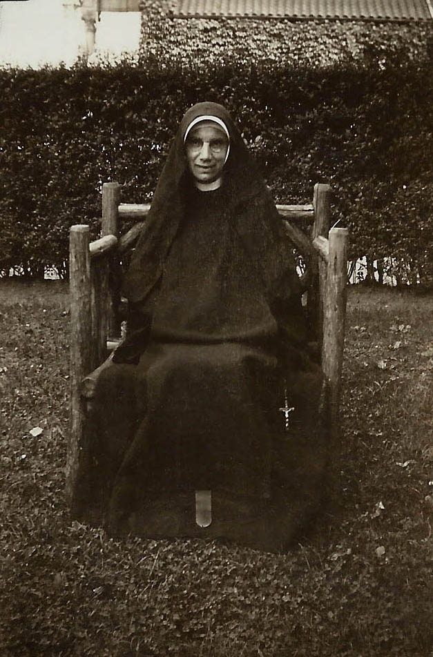 photo of Sister Teresita, extern nun, Philadelphia Carmel
