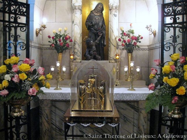 Saint Therese of Lisieux and her parents shrine Carmelite Monastery, Philadelphia
