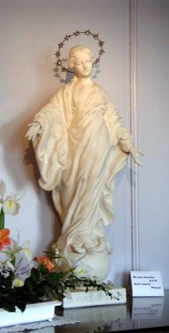 Virgin Mary Statue Lisieux replica