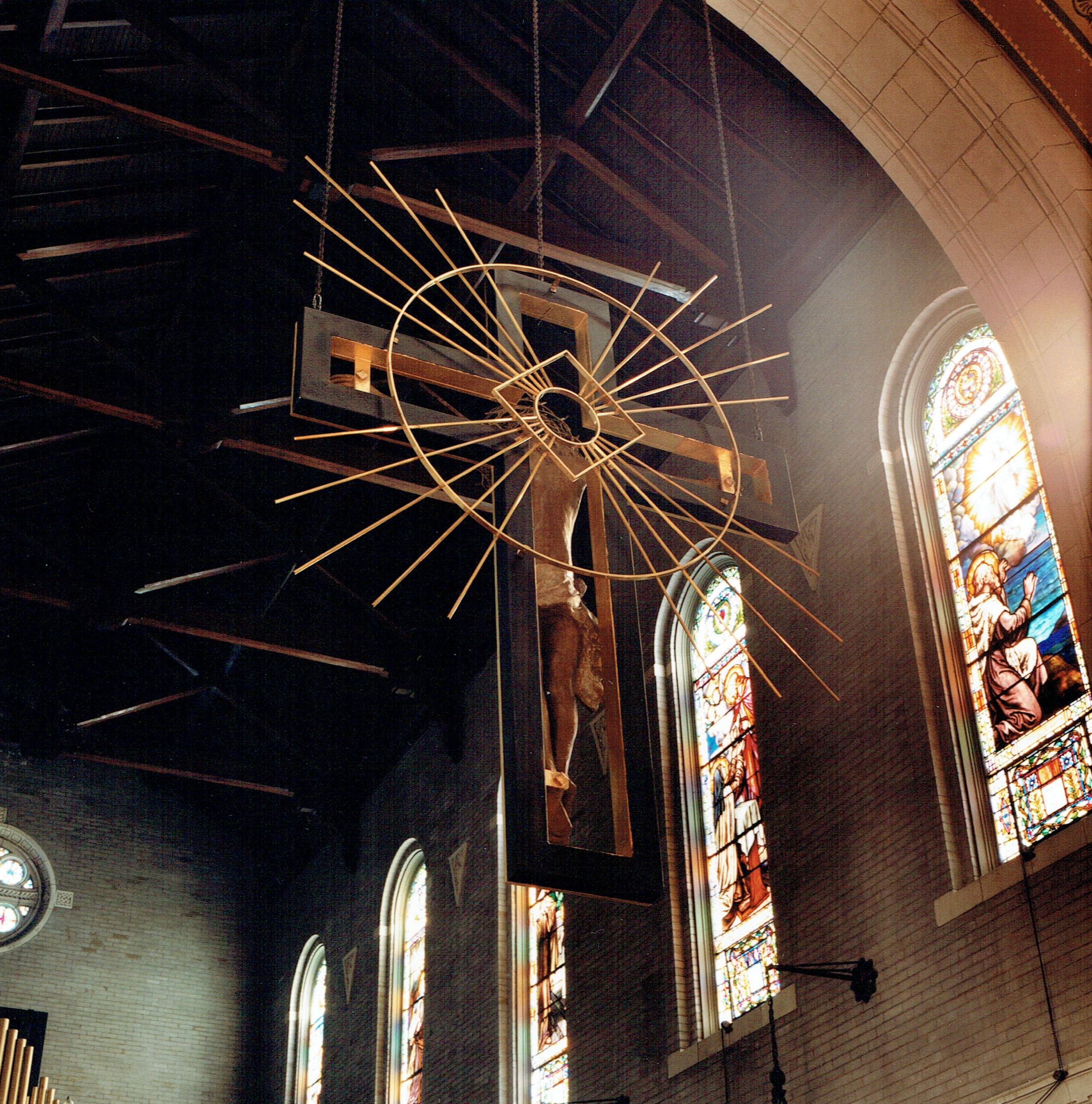 Crucifix real view