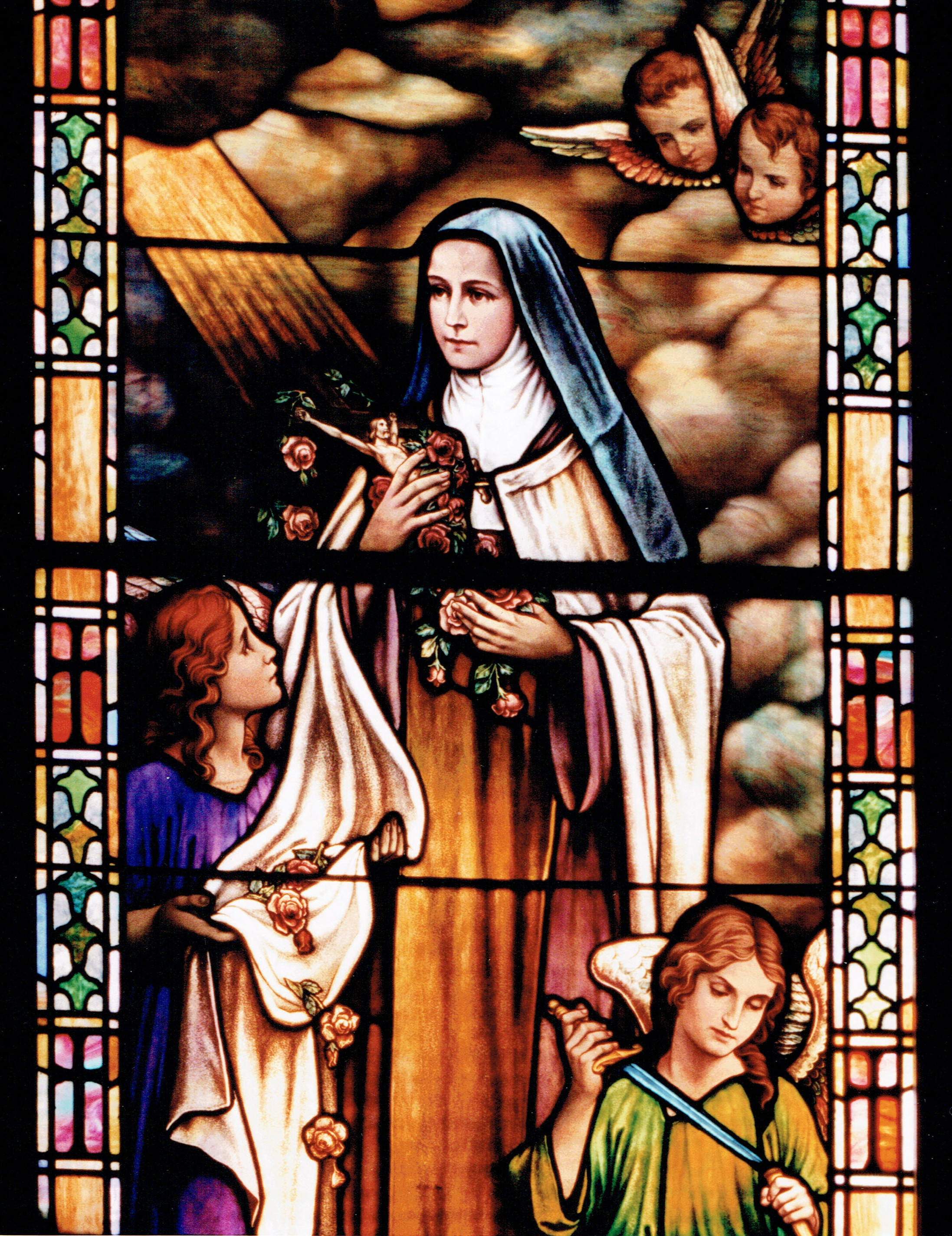 Therese window detail